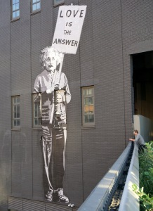 New York Highline Einstein