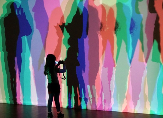Olafur Eliasson Your uncertain shadow colour I