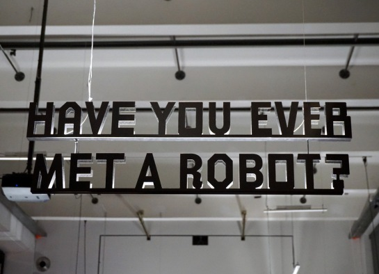 Have you ever met a robot